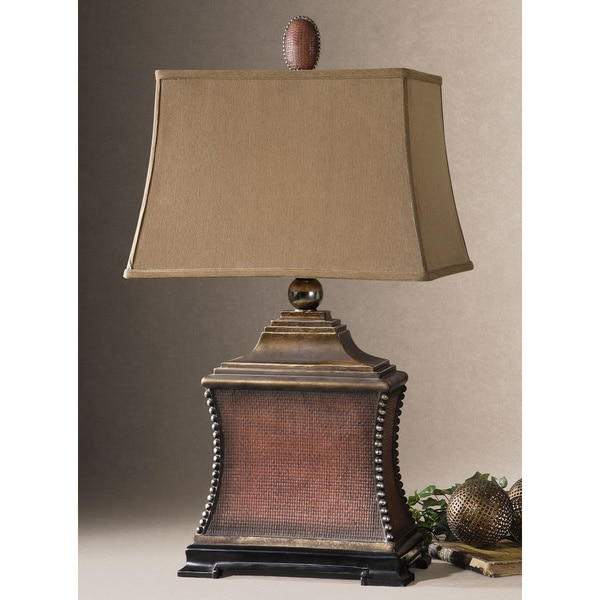 Shop Uttermost Pavia Aged Red Poly And Silvertone Beaded