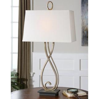 Uttermost Ferndale Scrolled Metal Table Lamp