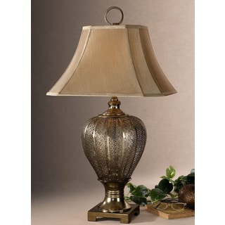 Uttermost Cupello Antiqued Champagne Table Lamp