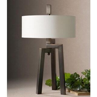 Uttermost Mondovi Metal Fabric Table Lamp