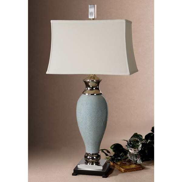 Uttermost Rossa Poly and Metal and Ceramic Table Lamp