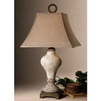 Uttermost Fobello Polyresin/ Ceramic Table Lamp