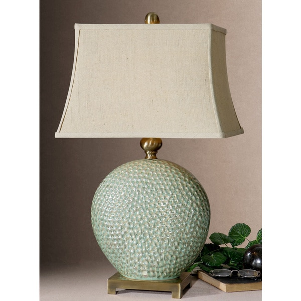 Uttermost Destin Metal/ Ceramic Table Lamp