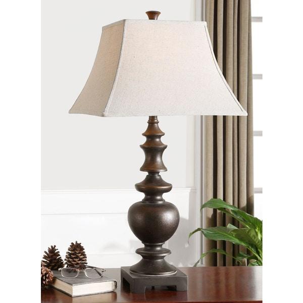 Uttermost Verrone Metal/ Polyresin Table Lamp