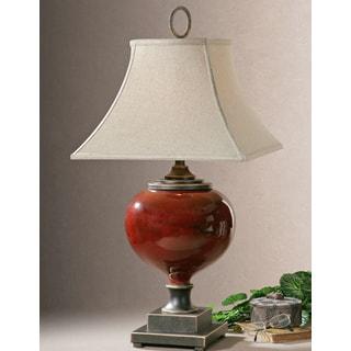 Uttermost Anka Metal/ Ceramic Table Lamp