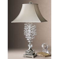 Uttermost Fascination Metal and Crystal Table Lamp
