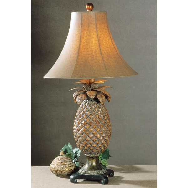 Shop uttermost anana pineapple resin metal table lamp free uttermost anana pineapple resin metal table lamp aloadofball Gallery