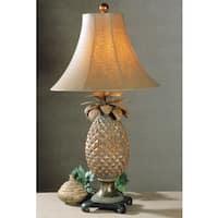 Uttermost Anana Pineapple Resin/ Metal Table Lamp