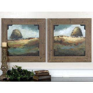 Uttermost Christina Long 'Trees Of Love I, II' 2-piece Framed Canvas Art Set