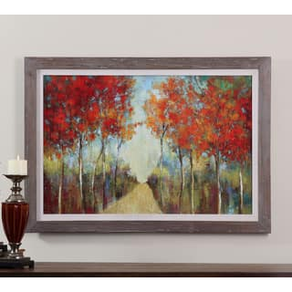 Uttermost Ella K 'Nature's Walk' Framed Canvas Wall Art