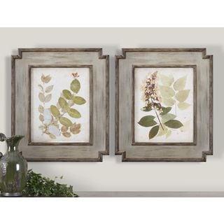 Uttermost Vision Studio 'Nature's Collage I, II' 2-piece Framed Canvas Art Set