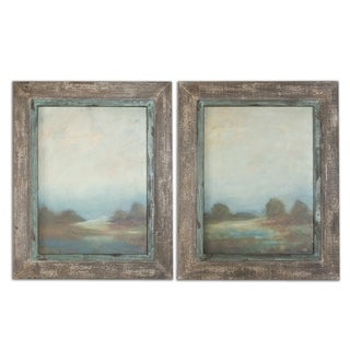 Uttermost Morning Vistas Set of 2 Framed Canvas