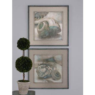 Uttermost John Seba 'Coastal Gems' 2-piece Framed Canvas Art Set