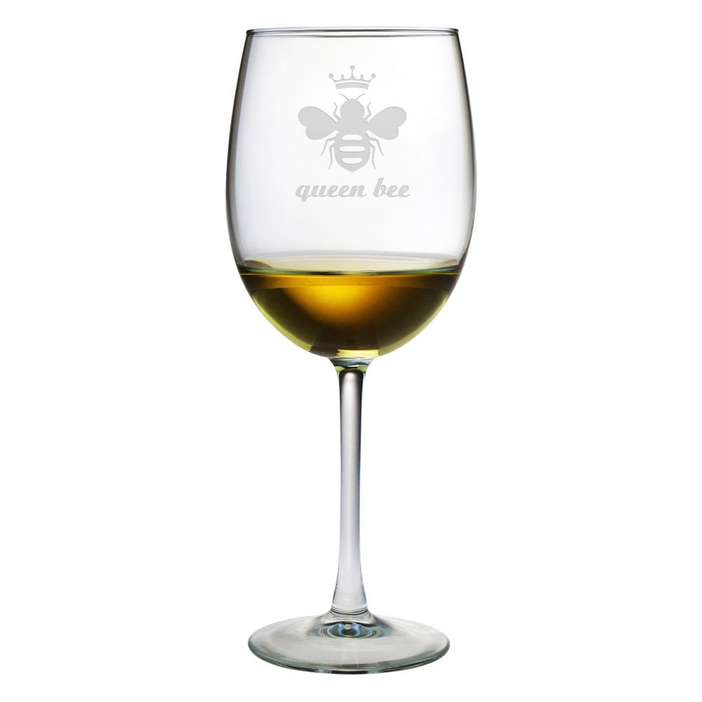 Susquehanna Glass Queen Bee 19-ounce Wine Glass (Set of 4...