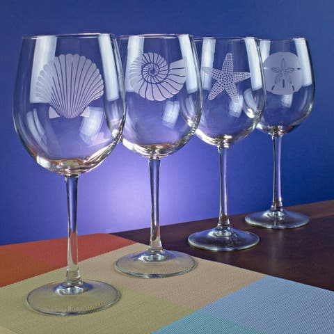 Seashore Collection Wine Glass (Set of 4)