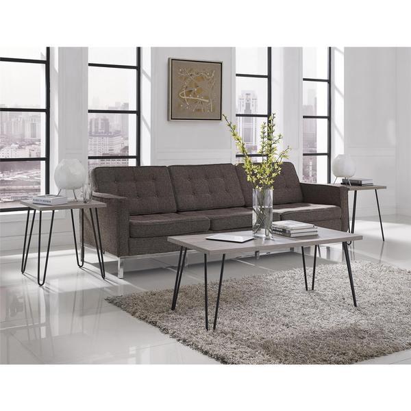 Ameriwood Home Owen Retro Mid Century Style Coffee Table