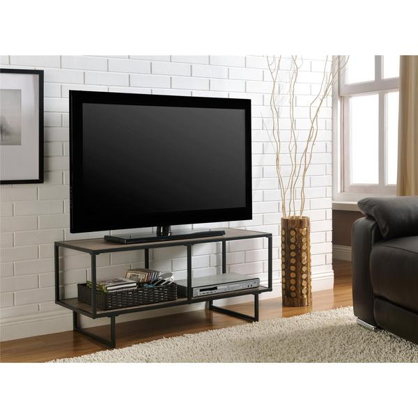 Ameriwood Home Emmett Gunmetal Grey TV Stand