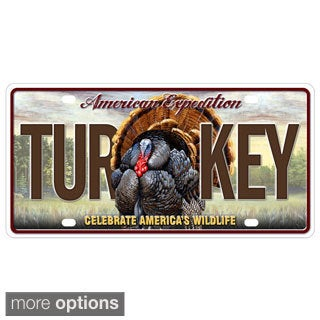 American Expedition License Plate