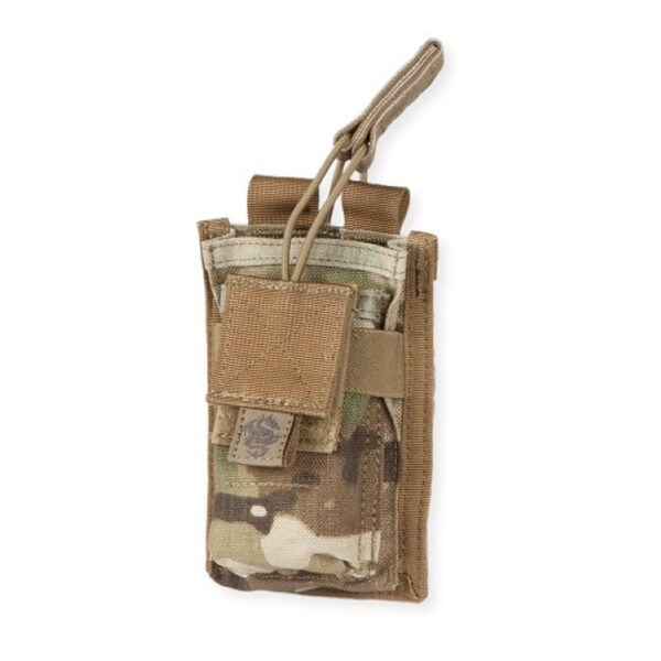 Tacprogear Single Rifle Mag Pouch w/ Pistol Mag Pocket