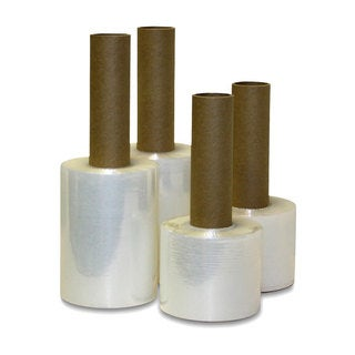 Extended Core Shrink Wrap Stretch Banding Film (5 inches x 1000 feet) (12 Rolls)