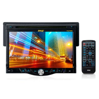 Pyle 7-inch Touch Screen TFT/LCD Monitor w/Digital Video Player/CD/MP3/USB/SD Slot/AM/FM/RDS Player