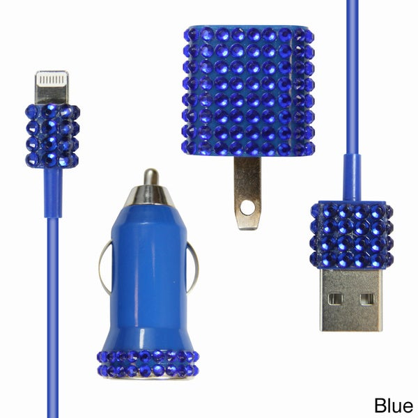 Bling 3-in-1 iPhone 5 Charger