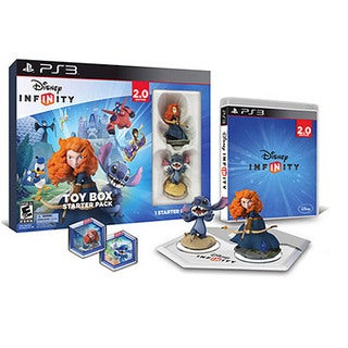 PS3 - Disney INFINITY 2.0 Toybox Starter Pack