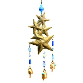 Handmade Falling Stars Wind Chime (India)
