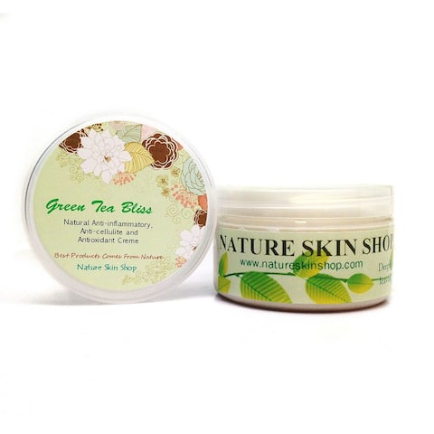 Handmade 5 Ounce Antioxidant Green Tea Butter Anti-Cellulite Creme