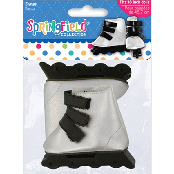 Springfield Collection In-Line Skates-Silver and Black