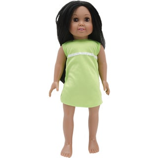 Springfield Collection Pre-Stuffed Doll 18in-Sofia-Dark Hair and Brown Eyes