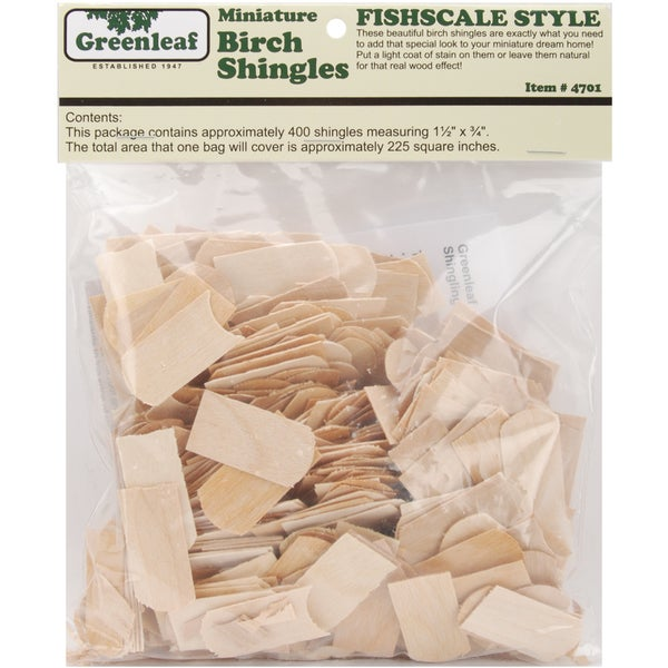 Dollhouse Shingles-Fishscale