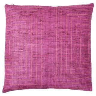 20 x 20-inch Streams Blush Decorative Throw Pillow