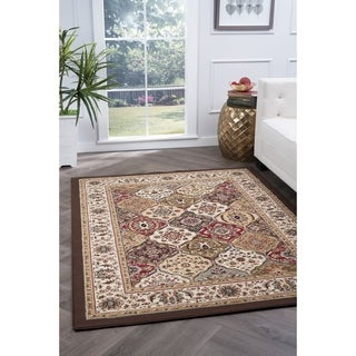 Alise Lagoon Multi Transitional Area Rug (9'3 x 12'6)