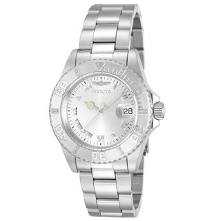 Invicta Women's 12819 Stainless Steel 'Pro Diver' Quartz Watch