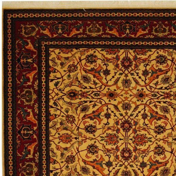 Handmade One Of A Kind Hereke Wool Rug
