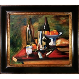 Henri Matisse 'Still Life with Oranges' Hand Painted Framed Canvas Art