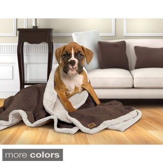 Animal Planet Faux Suede Pet Blanket