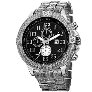 Joshua & Sons Men's Bold Multifunction Dazzling Silver-Tone Bracelet Watch with FREE GIFT|https://ak1.ostkcdn.com/images/products/9082555/Joshua-Sons-Mens-Bold-Multifunction-Dazzling-Bracelet-Watch-P16273356.jpg?impolicy=medium
