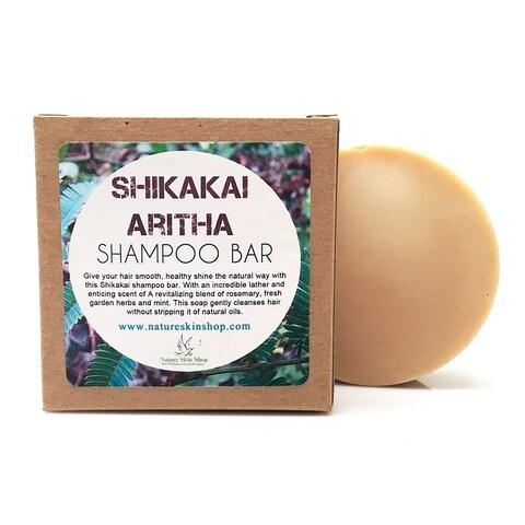 Handmade Shikakai and Aritha (Soapnut) Organic Shampoo Bar