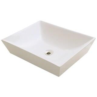 Polaris Sinks P073VB Bisque Porcelain Vessel Sink