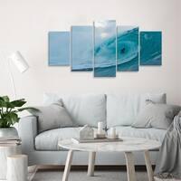 Ready2HangArt 'Surf' 5-piece Canvas Wall Art - Blue