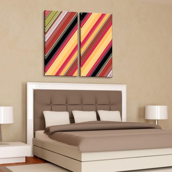 Ready2HangArt 'Geometric Study VIII' Canvas Wall Art (2-piece)