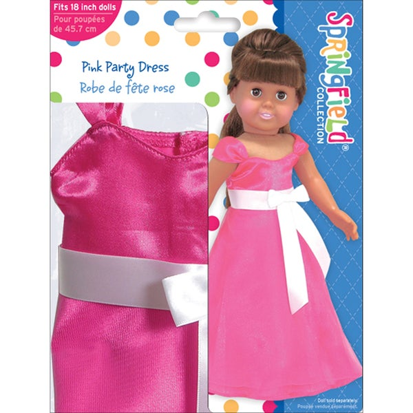 Springfield Collection Party Dress-Pink