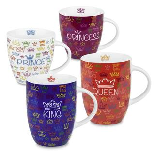 Konitz Royal Family Mugs (Set of 4)