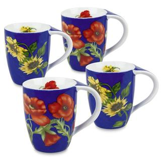 Konitz Flower Mugs (Set of 4)