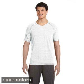 Men's Performance Triblend Short-sleeve V-neck T-shirt (More options available)