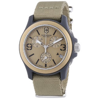 Victorinox Swiss Army Men's 241533 Original Chronograph Sand Watch