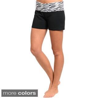 Stanzino Women's Banded Casual Shorts