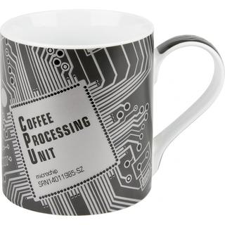 Konitz 'Coffee Processing Unit' High Tech Mugs (Set of 4)
